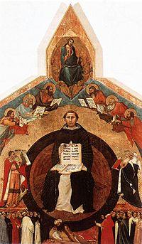 Lippo Memmi - Triumph of St Thomas Aquinas - WGA15020.jpg
