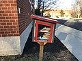 Little Free Library, Fiske Elementary School, Lexington MA.jpg