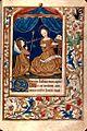 Livre d'heures - Annonciation - BM Besançon ms150.jpg