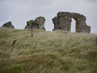 Dwynwen - The ruins of St Dwynwen's Church in Llanddwyn