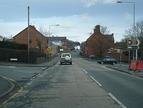 Llangollen Road in Acrefair (geograph 3861551).jpg