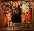 Lo scheggia, madonna col bambino in trono e santi, 1460-70 ca., 01.jpg