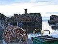 Lobster pots, Dunbar harbour - geograph.org.uk - 195602.jpg