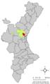 Localització de Bétera respecte del País Valencià.png