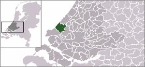 's-Gravenzande - Image: Locatie Westland