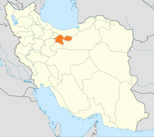 Tehran, Rey, Shemiranat and Eslamshahr (electoral district) - Image: Locator map Iran Tehran Province