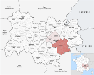 Arrondissement of Grenoble Arrondissement in Auvergne-Rhône-Alpes, France