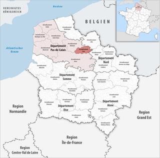 Arrondissement of Lens Arrondissement in Hauts-de-France, France