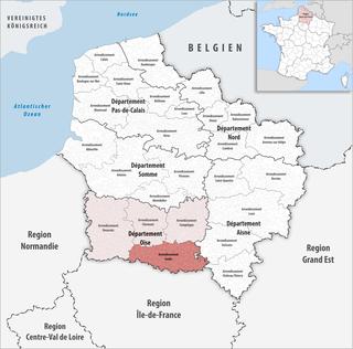 Arrondissement of Senlis Arrondissement in Hauts-de-France, France