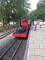 Loco Elidir at Cei Llydan station.jpg