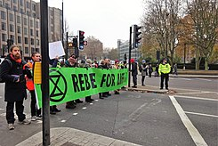 London November 23 2018 (20) Extinction Rebellion Protest Tower Hill.jpg