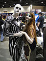 Long Beach Comic & Horror Con 2011 - Jack Skellington and Sally (6301177021).jpg