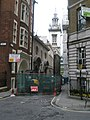 Looking down College Hill towards St Michael paternoster Royal - geograph.org.uk - 764293.jpg