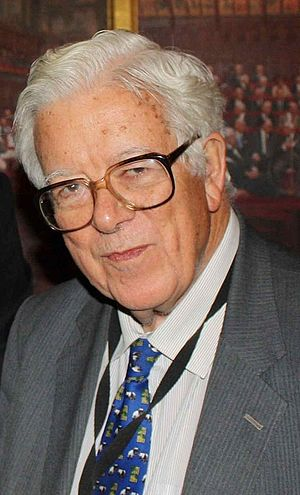 Deputy Prime Minister of the United Kingdom - Image: Lord Geoffrey Howe (cropped)