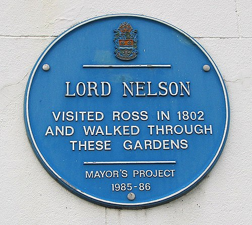 Lord nelson visits ross on wye in 1802   geograph.org.uk   659950