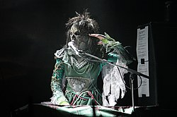 File photo of Lordi in concert in 2010.  Image: Alterna2.