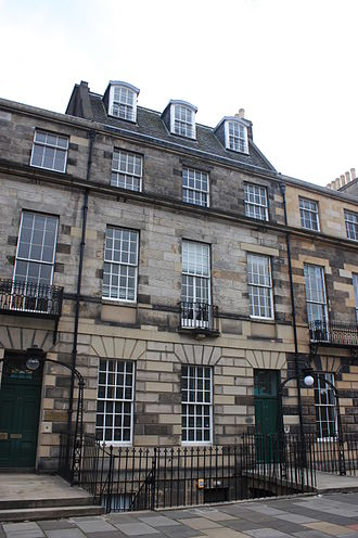 Robert Lorimer - Lorimer's house at 54 Melville Street, Edinburgh