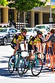 Lotto NL - Jumbo riders before the start of Stage 1 in Sacramento (34154726674).jpg