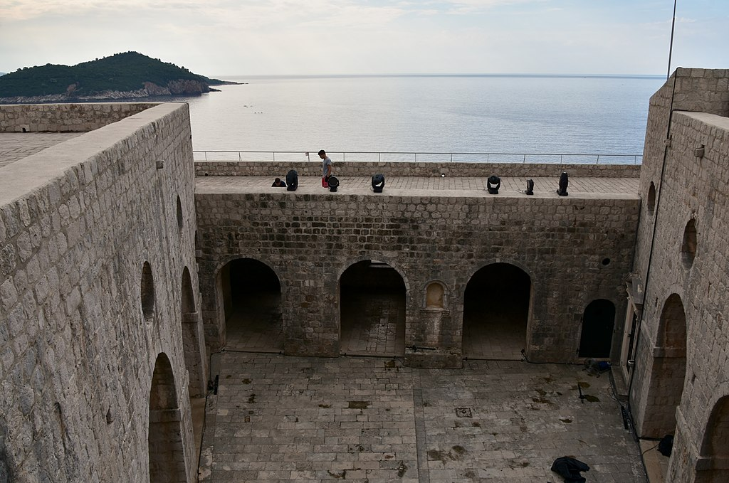 Lovrijenac Fort, Dubrovnik, early 16th century (14) (30075381406)