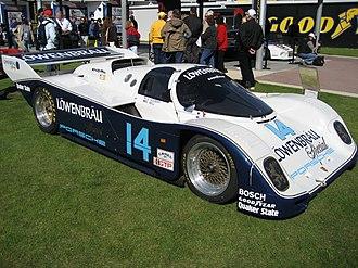 Al Holbert - Al Holbert's championship-winning Löwenbräu Special Porsche 962.