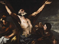 Luca Giordano - Crucifixion of St Andrew.jpg