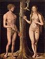Lucas Cranach d.Ä. - Adam und Eva (Gemäldepaar), Musée des Beaux-Arts de Besançon.jpg