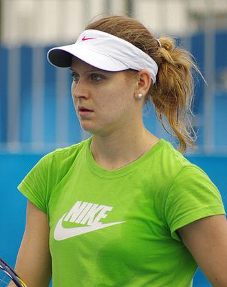 Lucie Šafářová - Šafářová in 2012