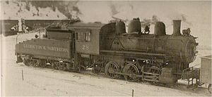 Ludington and Northern Railway - Image: Ludington & Northern Railroad