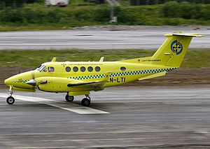 Norwegian Air Ambulance - Beechcraft King Air operated by Lufttransport