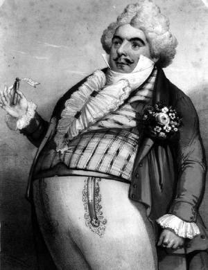 Don Pasquale - Luigi Lablache as Don Pasquale in the 1843 premiere