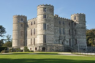 Lulworth Castle Grade I listed historic house museum in Purbeck, United Kingdom