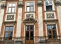Lwów , Polish , now Lviv , Львов - Rynek 8 (detale) - Rynek 8 - Kamienica Bernatowiczów, zbudowana na początku XIX wieku. Płaskorzeźby wykonał rzeźbiarz Gabriel Krasucki - panoramio.jpg