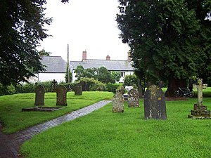 Church of St Lawrence, Lydeard St Lawrence - The churchyard