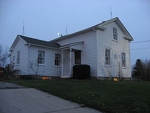 Parma, Ohio - Lyman Stearns Farm house, built 1855