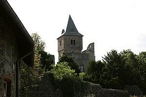 Mühltal - Burg Frankenstein 11 ies