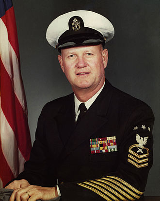 Master Chief Petty Officer of the Navy - Image: MCPON Delbert Black