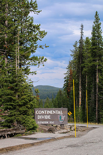 Craig Pass - The Continental Divide at the Craig Pass