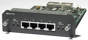 Avaya Secure Router 4134 - 4 port T1/E1 module