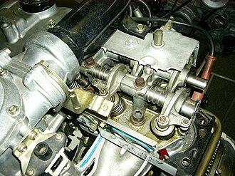 Mitsubishi MCA - MCA-Jet valve displayed