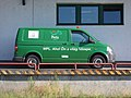 MPL Postal van, Veszprém, 2016 Hungary.jpg