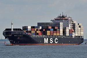 MSC Carmen - Image: MSC Carmen (7892389066)