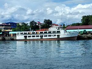 Ever Shipping Lines - MV Ever Sweet in Zamboanga International Seaport