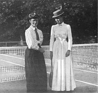Mabel Cahill - Cahill (left)