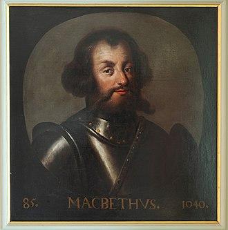Jacob de Wet II - Macbeth, King of Scotland, from de Wet's royal portrait series in Holyrood.