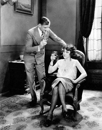 Madame X (1929 film) - Ullrich Haupt and Ruth Chatterton in Madame X