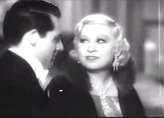 Mae West - with Cary Grant in I'm No Angel (1933)