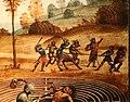 Maestro dei cassoni campana, teseo e il minotauro, 1510-15 ca. (avignone, petit palais) 09 punizione del centauro.jpg