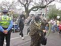 Magazine St Carnival Sunday 2013 Skin N Bones NOPD.JPG