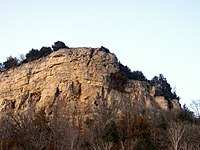 Maiden Rock at Lake Pepin