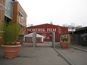 Nordisk Film - Main gate of Nordisk Film in 2008